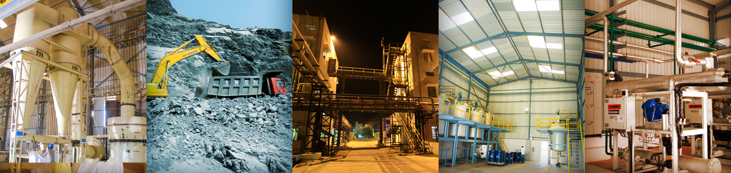 Barite Beneficiation Plant & Liquid Product Manufacturing & Blending Facility – 02